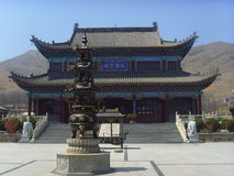 Wanghaisi Temple Stock Photo