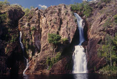 Wangi Falls. In Litchfield National Park near Darwin in the Northern Territory, Australia Royalty Free Stock Photography
