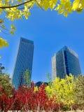 Wangjing, Пекин, Китай, высокое здание, стоковые изображения rf