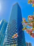 Wangjing, Beijing, Chiny, wysoki budynek, zdjęcie stock