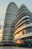 Wangjing SOHO, Пекин, фарфор Стоковое Изображение