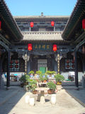 The Wangs Courtyard. Filmed in The Wangs Courtyard of shanxi Province Stock Photography