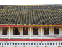 Wangwiwakaram temple. Stock Photo