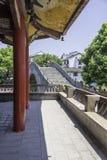 Wangyue Bridge (Moon Bridge). This photo was taken in Sanhe Ancient Town ,Anhui province, china Royalty Free Stock Images