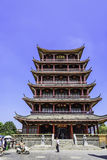 Wangyue Tower (Moon Tower) stock image