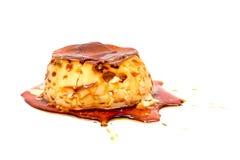 wanilia karmelizująca kremowego creme deserowego francuza cukieru odgórna tradycyjna wanilia obrazy royalty free