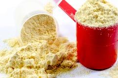 Waniliowa proteina obraz stock