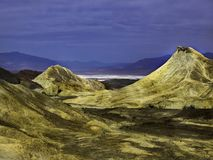 Waniliowe przygody przy Śmiertelnym Dolinnym parkiem narodowym w lecie zdjęcia royalty free