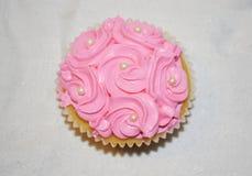 Waniliowy capcake Fotografia Royalty Free