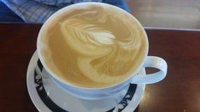 Waniliowy Francuski Latte Fotografia Stock
