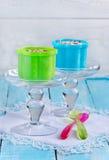 Waniliowy lody Zdjęcia Royalty Free