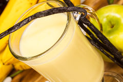 Waniliowy Milkshake Zdjęcie Stock