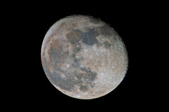 Waning gibbous Moon Stock Photography
