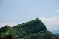 Wanli område, ny Taipei stad, Taiwan Yehliu Geopark 'radar Arkivbilder
