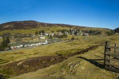 Wanlockhead, Dumfries i Galloway, Szkocja Obrazy Royalty Free