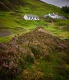 Wanlockhead prowadzenia wzgórza Szkocja Fotografia Stock