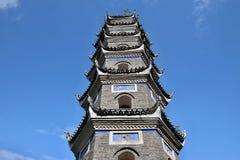 Wanming pagoda w Phoenix Antycznym miasteczku w prowincja hunan w Chiny Zdjęcie Royalty Free