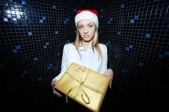 Wanna gift? Royalty Free Stock Image