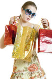 Wanna Look Inside Bag Royalty Free Stock Photography