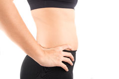 Wanna lose weight Royalty Free Stock Photography
