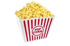 Wanne Popcorn Stockfotografie