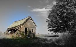 Wanneer de kleur het verleden ontmoet Stock Fotografie