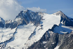 Wannenhorn (3906m) Stock Image