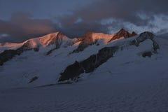 Wannenhorn Switzerland Berner Oberland stock photography
