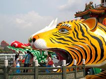 The Wannian Folklore Festival 2013 in Kaohsiung, Taiwan Stock Images