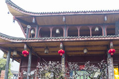 Wannian temple in mount emei,china Royalty Free Stock Photography