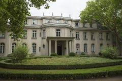 Wannsee,柏林,德国;2018年8月23日;Wannsee别墅 图库摄影