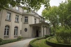 Wannsee,柏林,德国;2018年8月23日;Wannsee别墅 库存照片