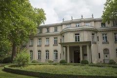 Wannsee, Берлин, Германия; 23-ье августа 2018; Вилла Wannsee стоковые изображения rf
