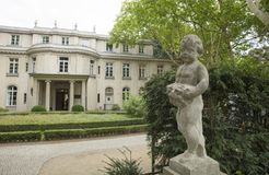 Wannsee, Berlin, Allemagne ; Le 23 août 2018 ; Villa de Wannsee image stock