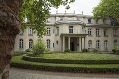 Wannsee, Berlin, Deutschland; Am 23. August 2018; Wannsee-Landhaus lizenzfreies stockbild