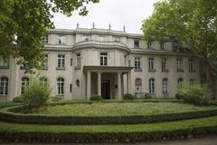Wannsee, Berlin, Germany; 23rd August 2018; Wannsee Villa stock photography