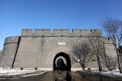 Wanping fästning arkivfoton