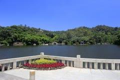 wanshi植物园湖  库存照片