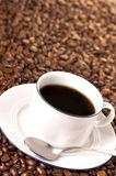 Want a coffee? Royalty Free Stock Image