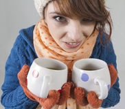 Want some tea ? Stock Images
