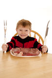 Want steak Royalty Free Stock Photos