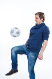 Want to play some ball Royalty Free Stock Photography