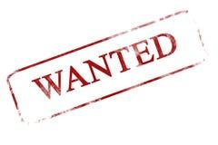 Wanted Stock Photos