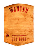 Wanted dead or alive. Stock Images