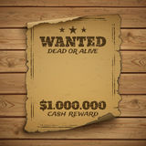 Wanted, dead or alive Royalty Free Stock Images