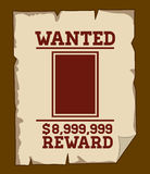 Wanted design Stock Images