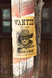 Wanted far west Royalty Free Stock Image