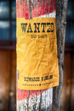 Wanted farwest Royalty Free Stock Image