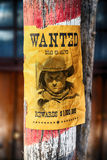 Wanted farwest Stock Image