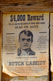 Wanted Robert Leroy Parker known as Butch Cassidy Stock Photo